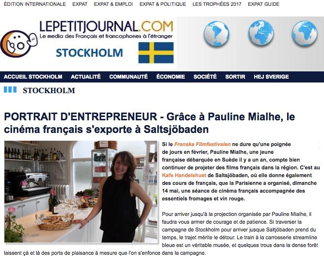 Article LPJ Stockholm 1/4