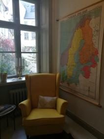 Un des nombreux fauteuils de Knackeriet