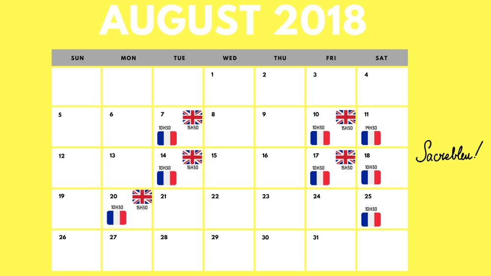Calendrier Aout MFF