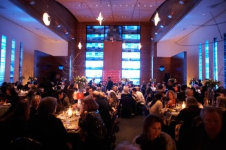 The Temple Theater became the sight of artist and patron conversations during An Artist At The Table on January 21, 2010.