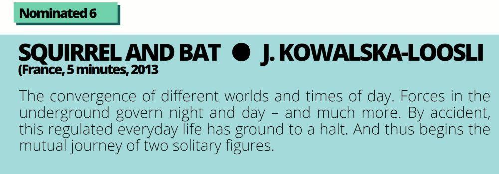 Nominated 6 Bat and squirrel 1