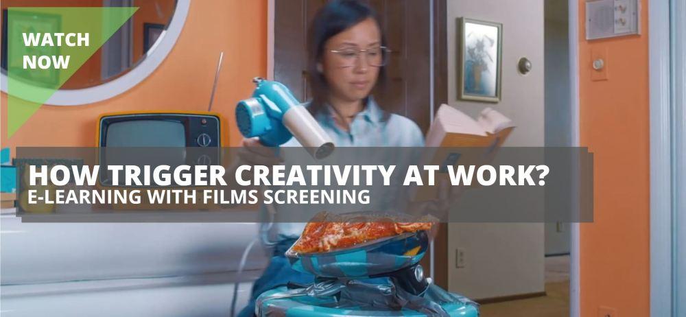 Creativity Watch now